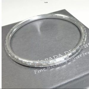 Silpada B1482 Thin Sterling Silver Bangle Bracelet